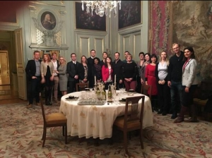 WC2016 Visit to French Embassy Group Photo